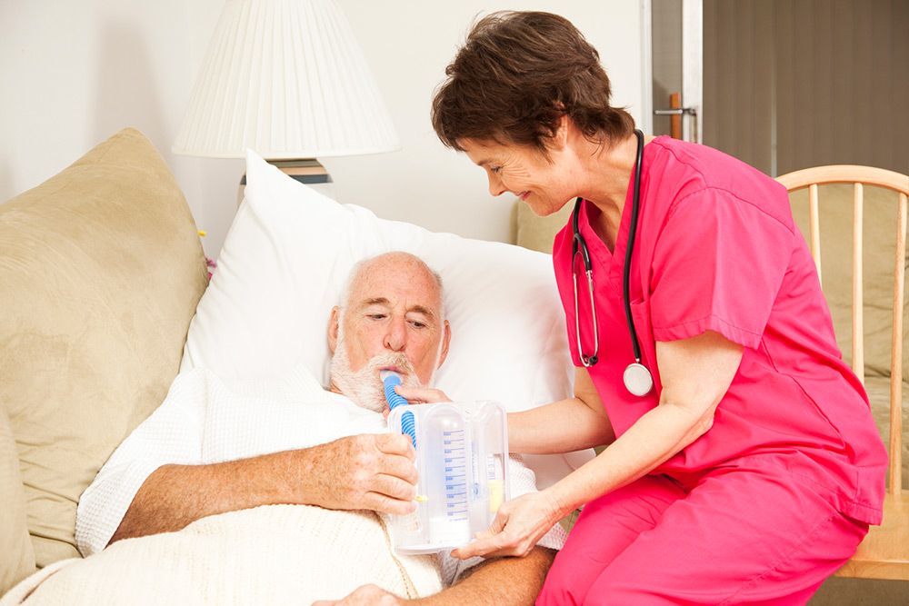 Respiratory Therapy at Excell home care